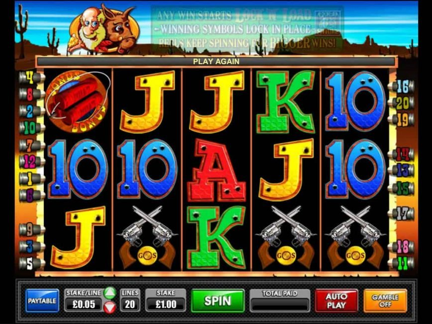 Picture from online casino slot Gold Strike