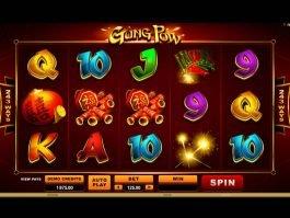 Online slot machine Gung Pow no deposit no registration