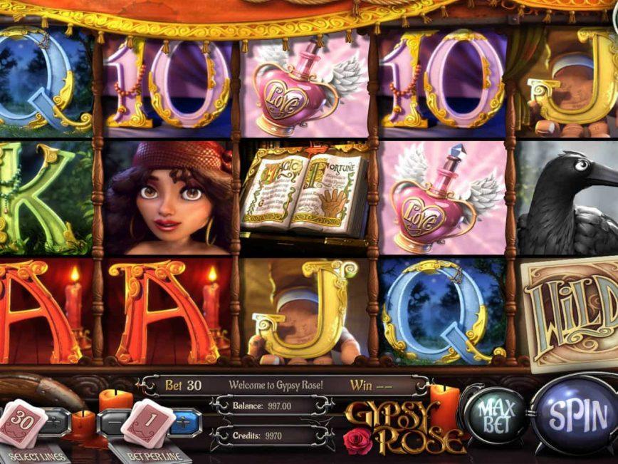Play free slot Gypsy Rose online no deposit