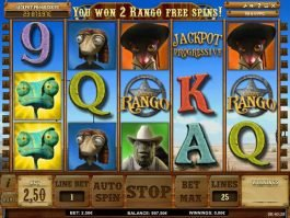 Play free casino slot Jackpot Rango no deposit