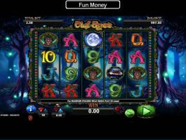 Free casino slot game Owl Eyes