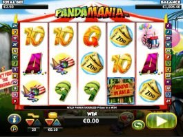 Play free slot game Pandamania no deposit
