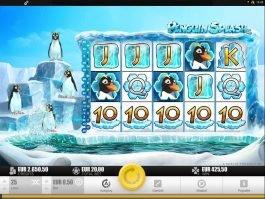 Play free casino slot Penguin Splash