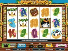 Play free slot game Penguins in Paradise no registration