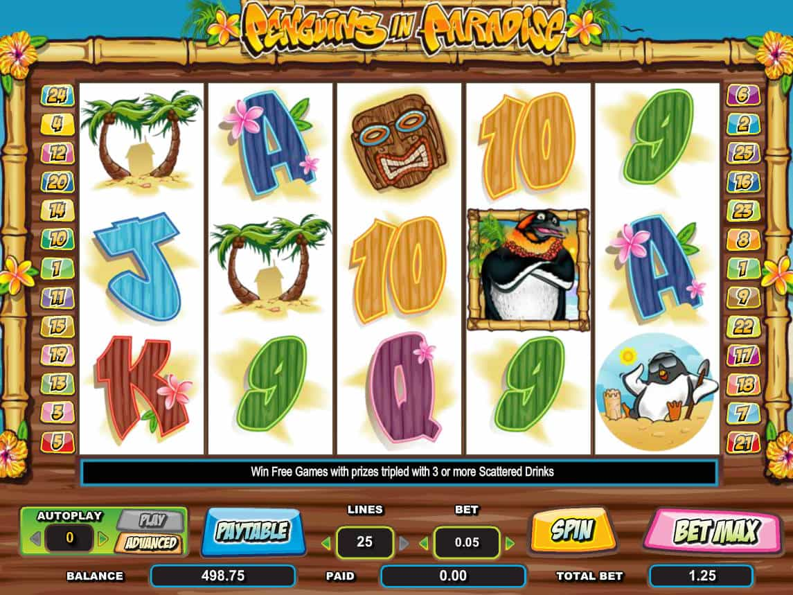 Penguins Slot Machine Game