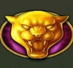 Symbol scatter of online free slot game Prowling Panther