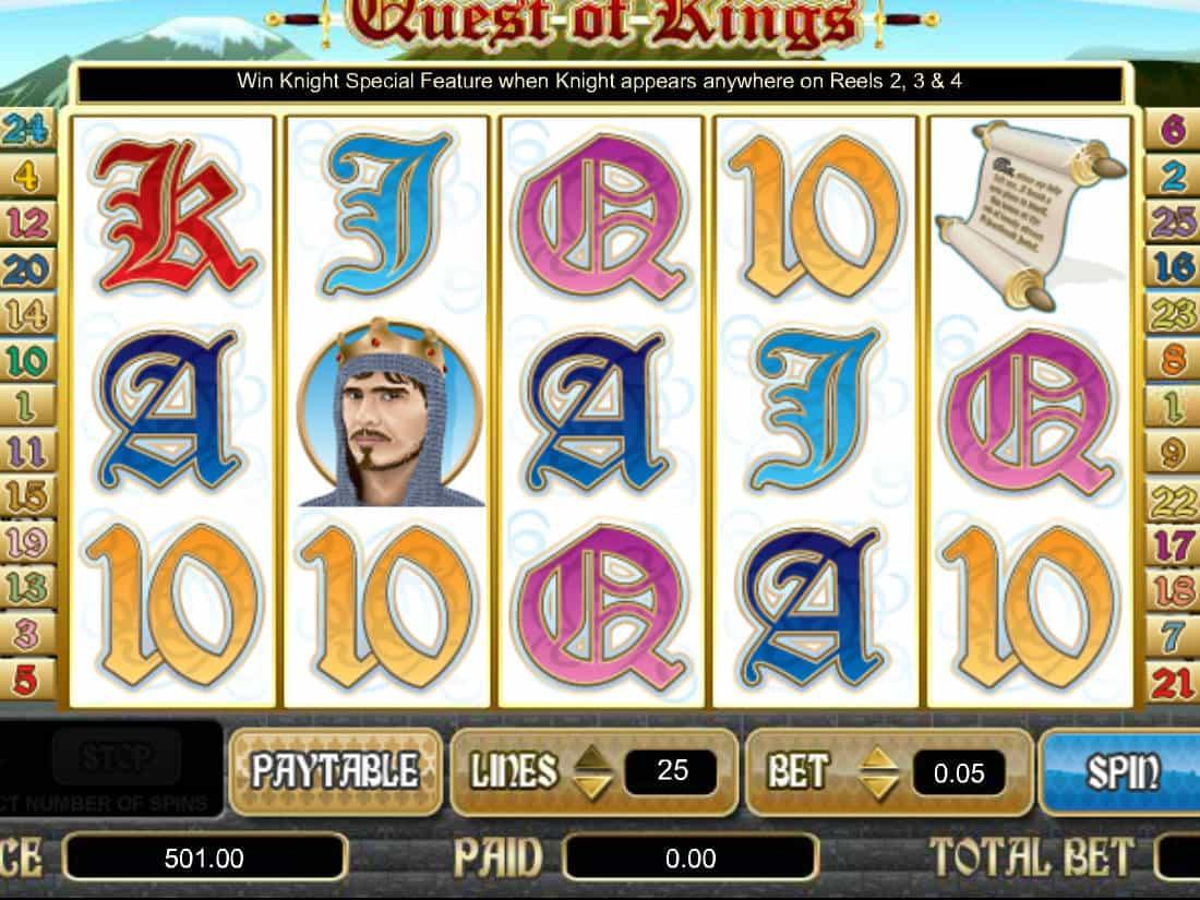 Spiele Quest Of Kings - Video Slots Online