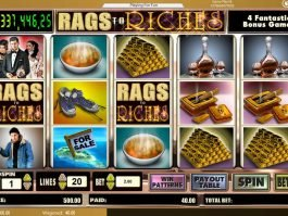 Free casino game Rags to Riches