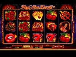 Play free online slot Red Hot Devil