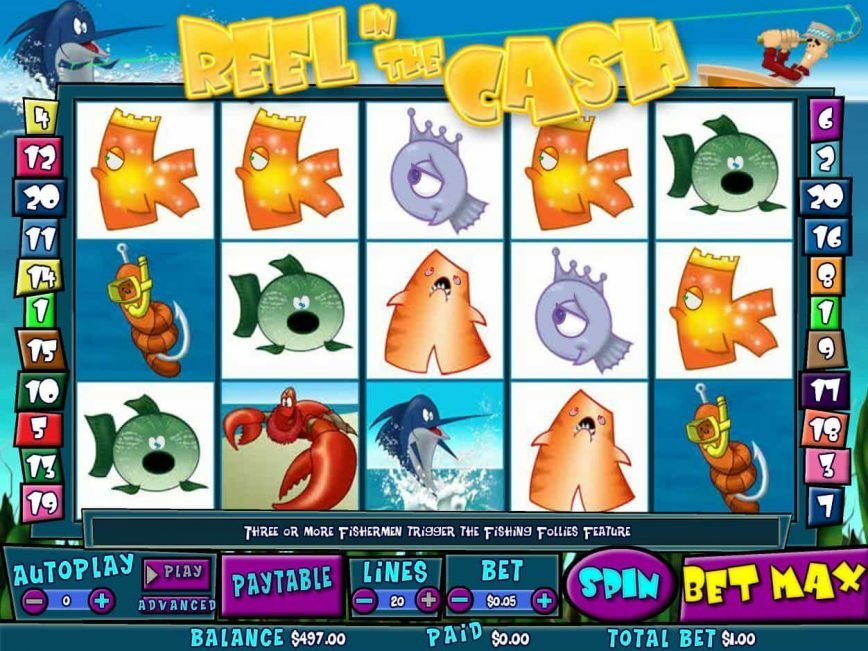 Slot machine Reel in the Cash online no deposit