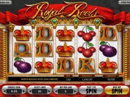 Casino slot machine Royal Reels online