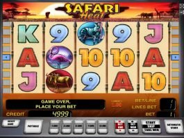 Online free slot Safari Heat no deposit