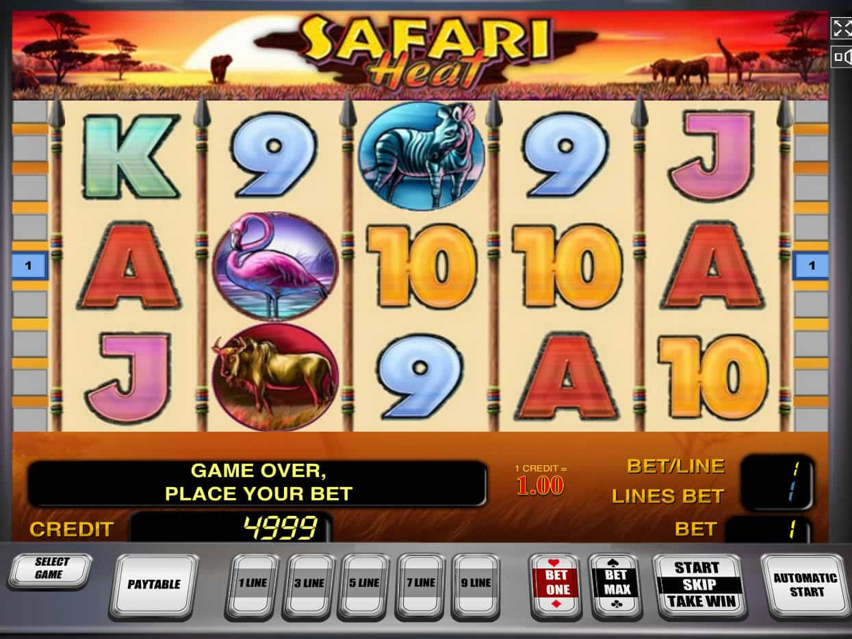 Safari Heat Slots Online | $/£/€400 Welcome Bonus | Casino.com