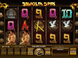 Play free slot machine Shaolin Spin for fun