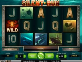 Picture from casino slot game Silent Run