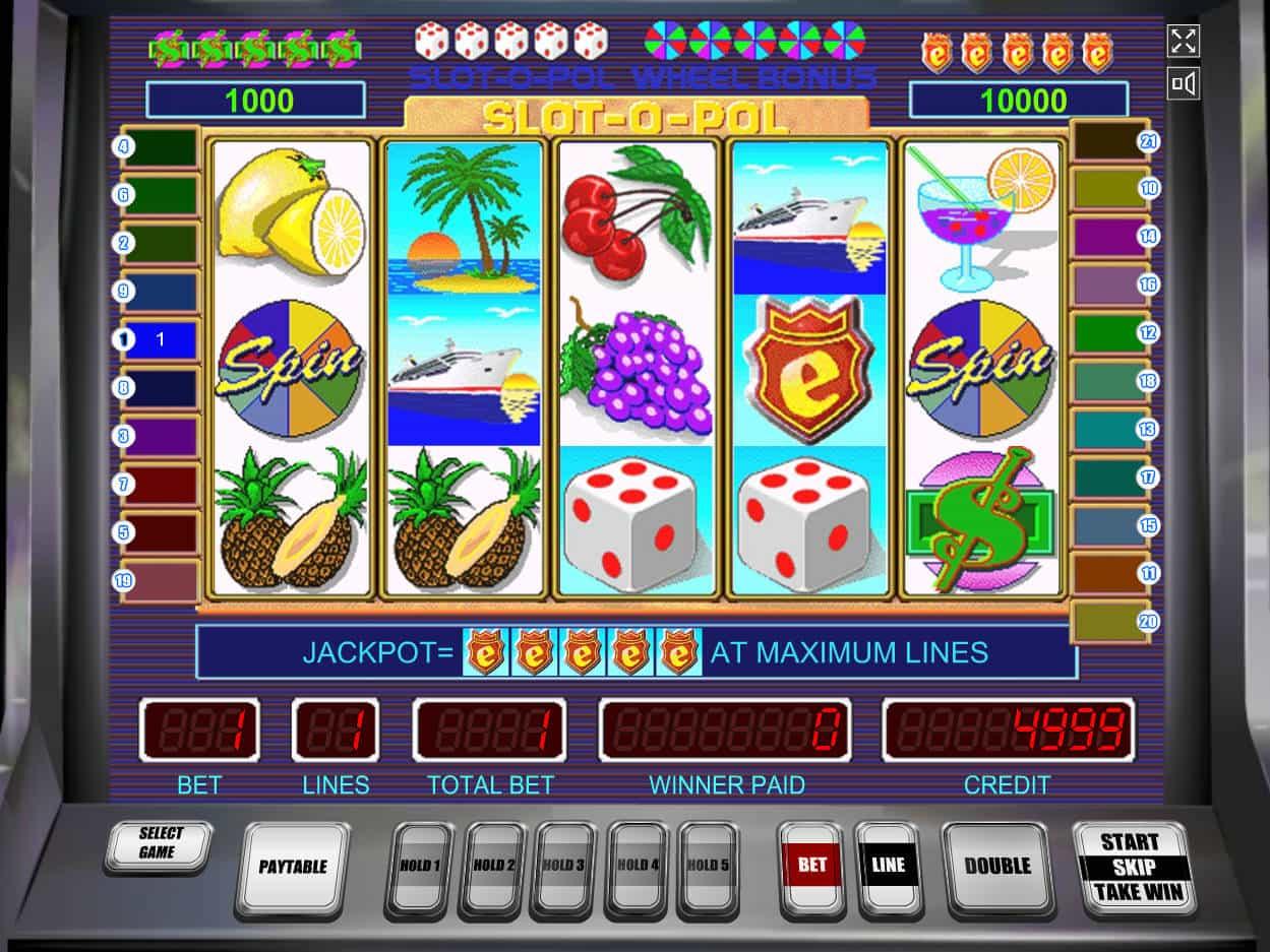 Slot Machines Slot o Pol Play for Free