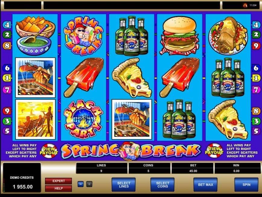 Online free slot machine Spring Break