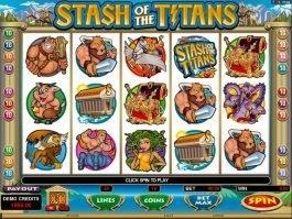 Free info casino slot Stash of the Titans
