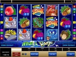 Play free slot game What a Hoot