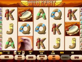 Casino free slot game Wild Spirit