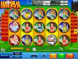 Picture from slot machine World Soccer