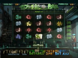 Online slot game Zombie Bar no deposit