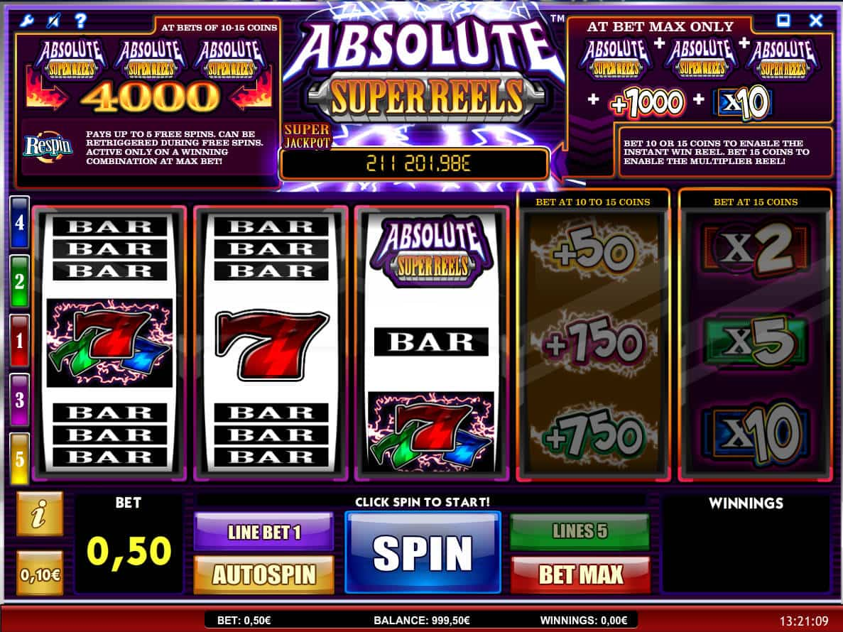 Absolute Slots