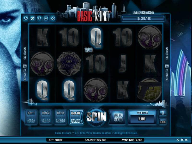 Casino online slot Basic Instinct
