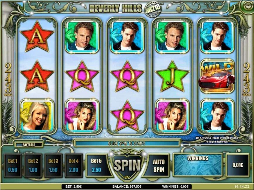 Slot machine Beverly Hills 90210 online