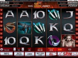 Online slot game Blade no deposit