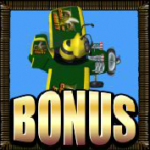 Bonus symbol from online slot Call of Fruity
