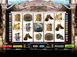 Online slot game Call of the Colosseum