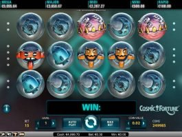 Online slot machine Cosmic Fortune