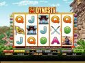 Online slot game Dynasty no deposit