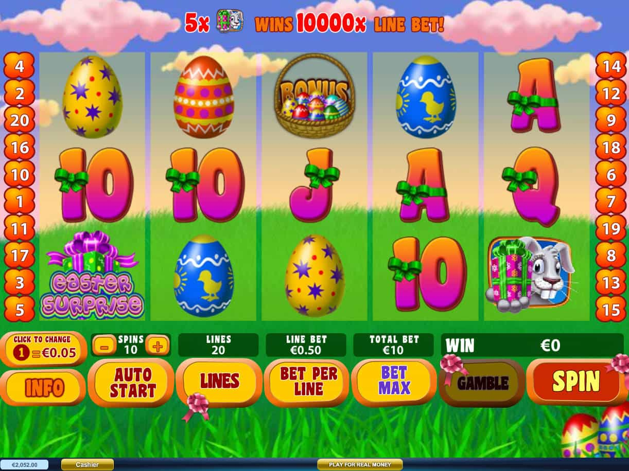 Easter surprise slot machine online playtech free