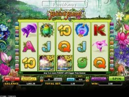 Online slot game Fairies Forest no deposit