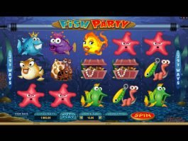 Play free casino slot game Fish Party
