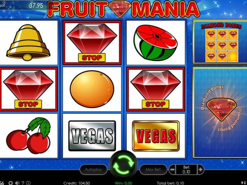 Casino free slot Fruit Mania online