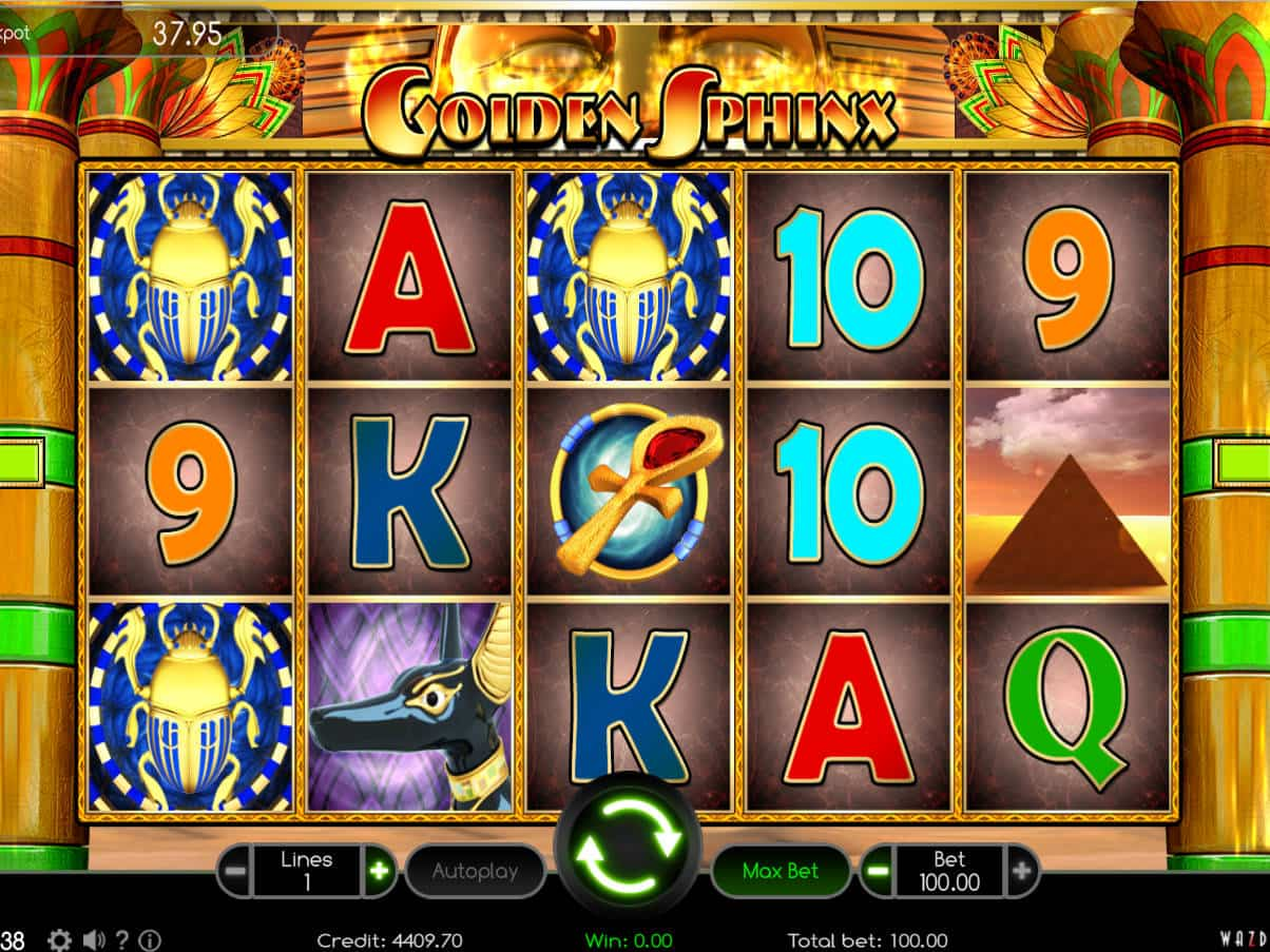 Spiele Golden Sphinx - Video Slots Online