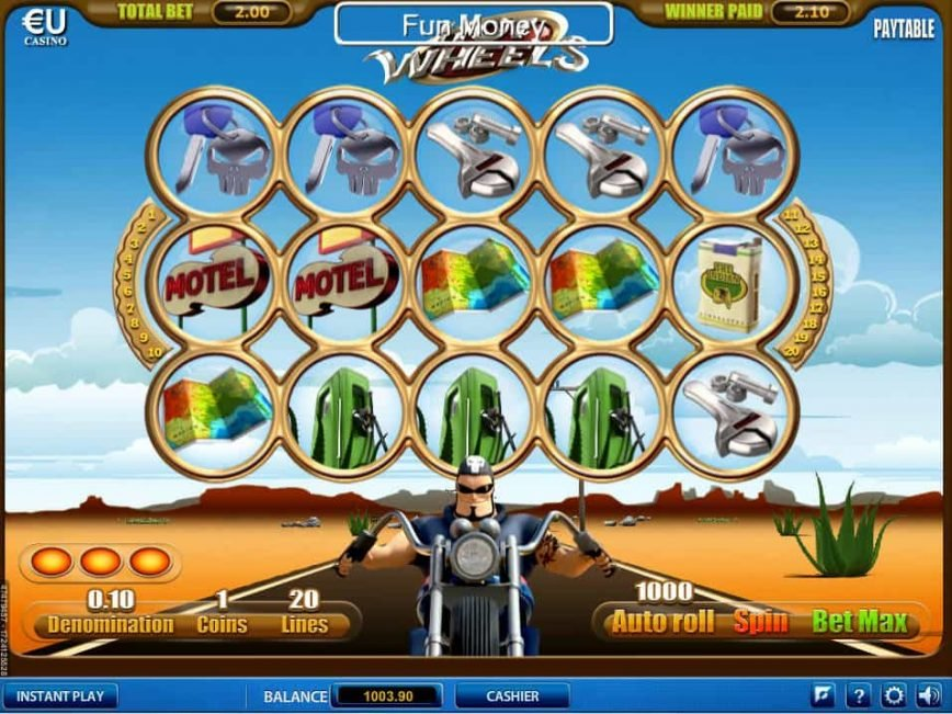 Casino slot game Hot Wheels online