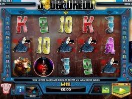 Online slot machine Judge Dredd for free