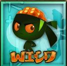 Wild symbol - Kobushi online slot