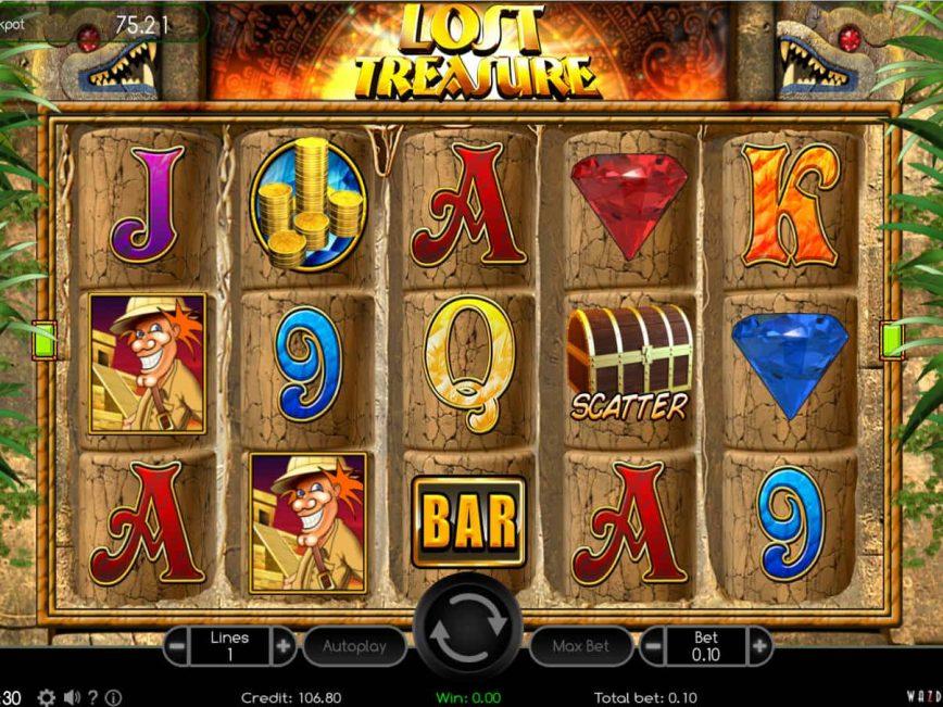 Lost Treasure online casino game