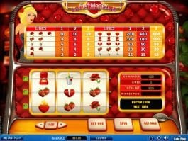 Play free slot Love Machine online