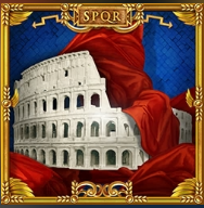 Picture from online free slot Luxury Rome