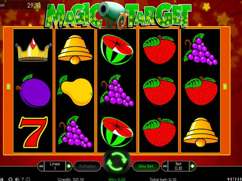 Play Magic Target free online slots with no download required!