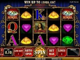 Free casino slot machine Mona Lisa Jewels for fun