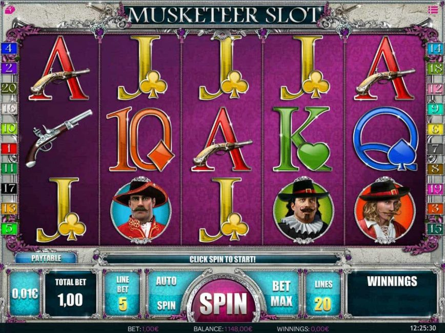 Free slot machine Musketeer Slot