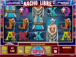 Online casino slot game Nacho Libre no download