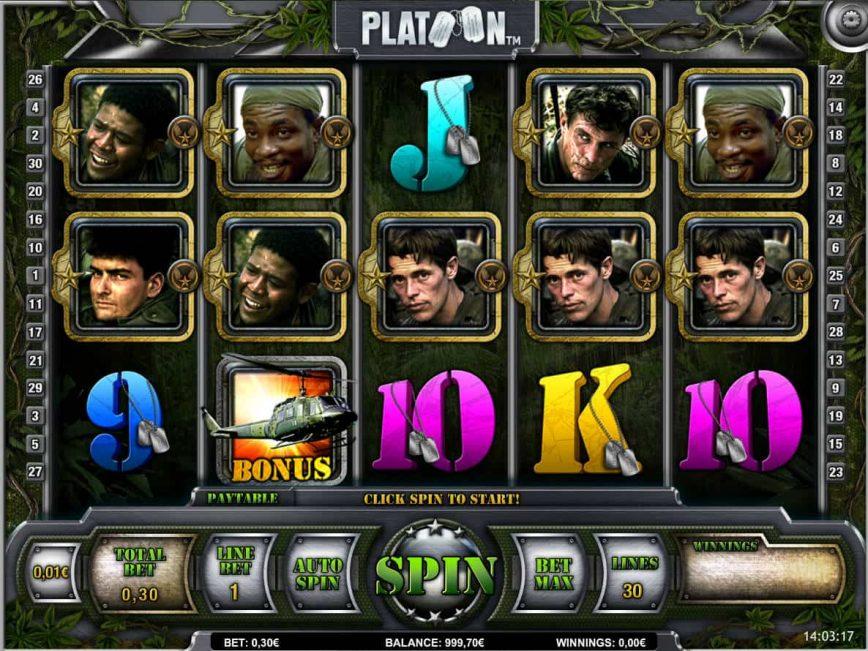 Platoon Slot Machine